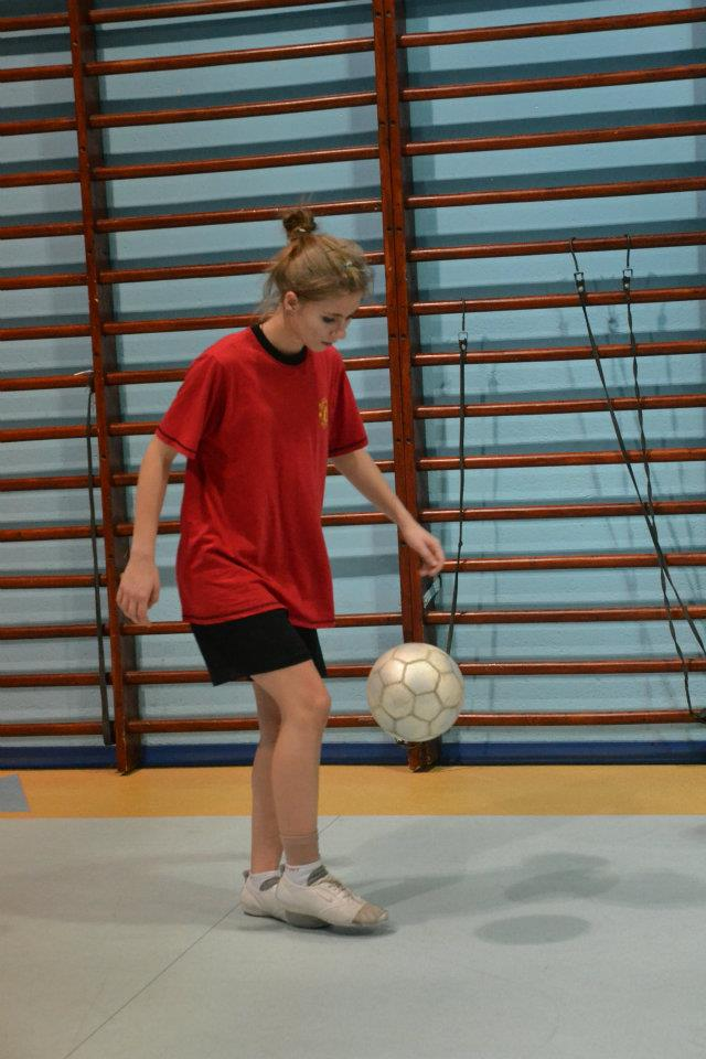 Agnieszka Wachowiak Manchester United Girl