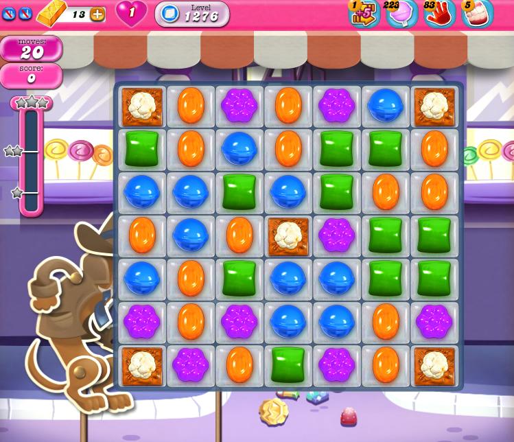 Candy Crush Saga 1276