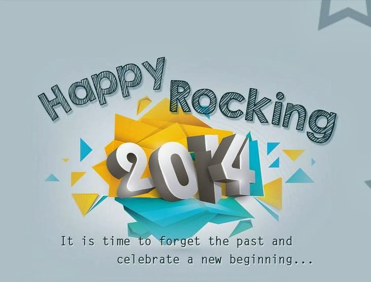 Happy Rocking 2014 Wallpaper