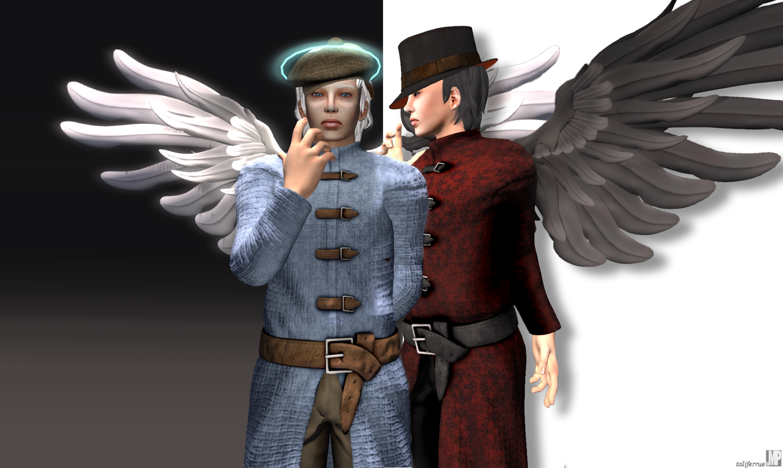 Second Life Event Review - A Tattered Page - Good Omens