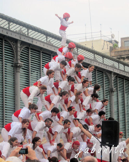 Menschenpyramide