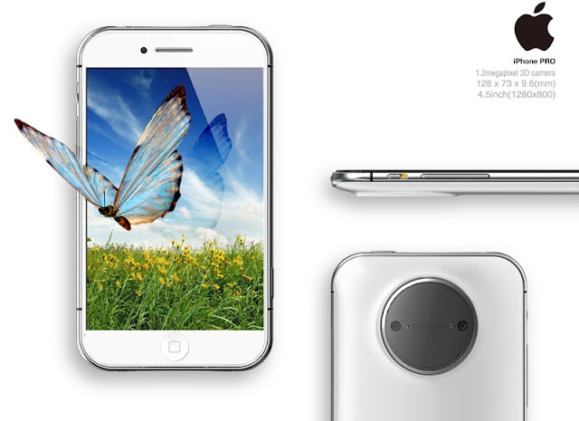 iPhone PRO Concept with 4.4-inch Retina display
