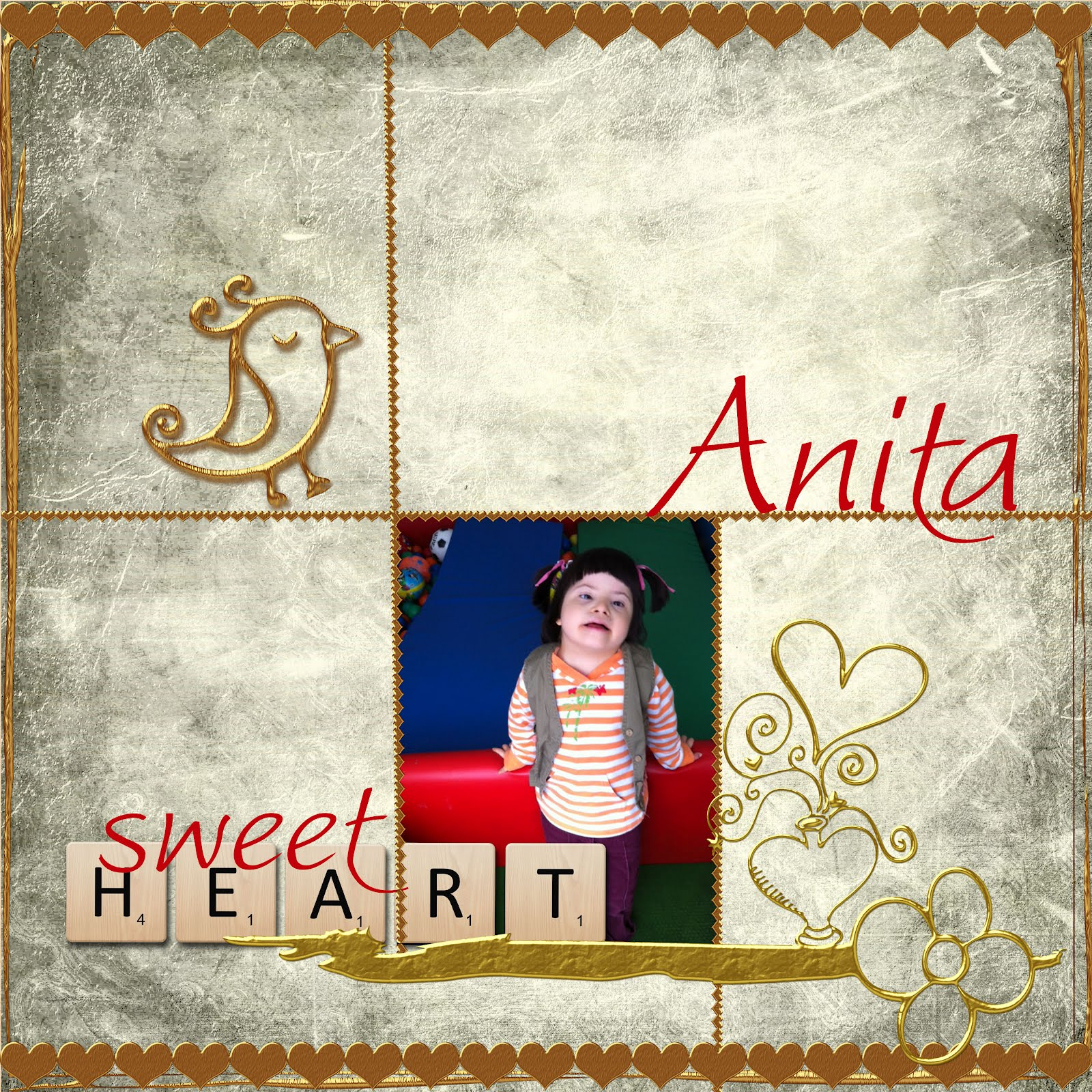 Anita age 6