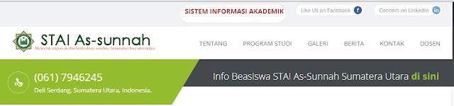 Info Pendaftaran STAI ASSUNNAH TAHUN 2016