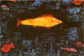 Paul Klee painting - The Golden Fish