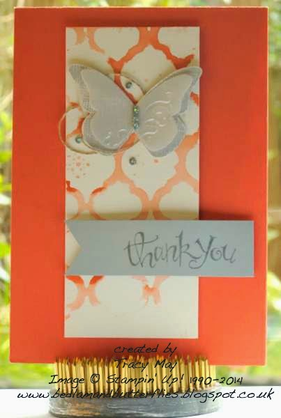 stampin up uk beautiful butterflies card Tracy May card making rubber stamps