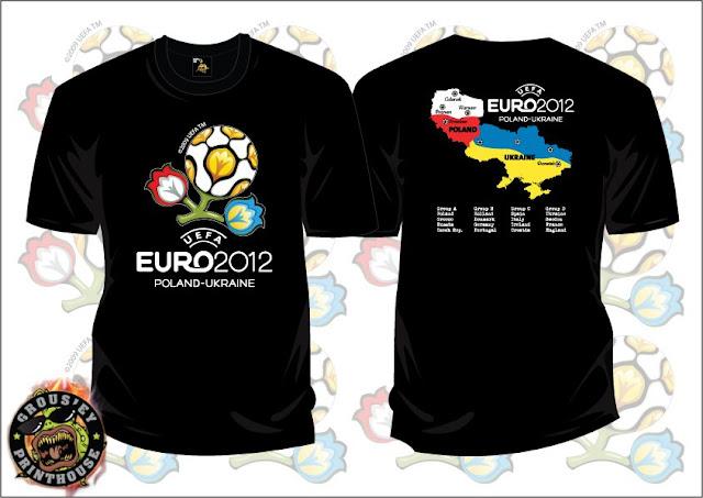 T SHIRT EURO 2012 - Logo