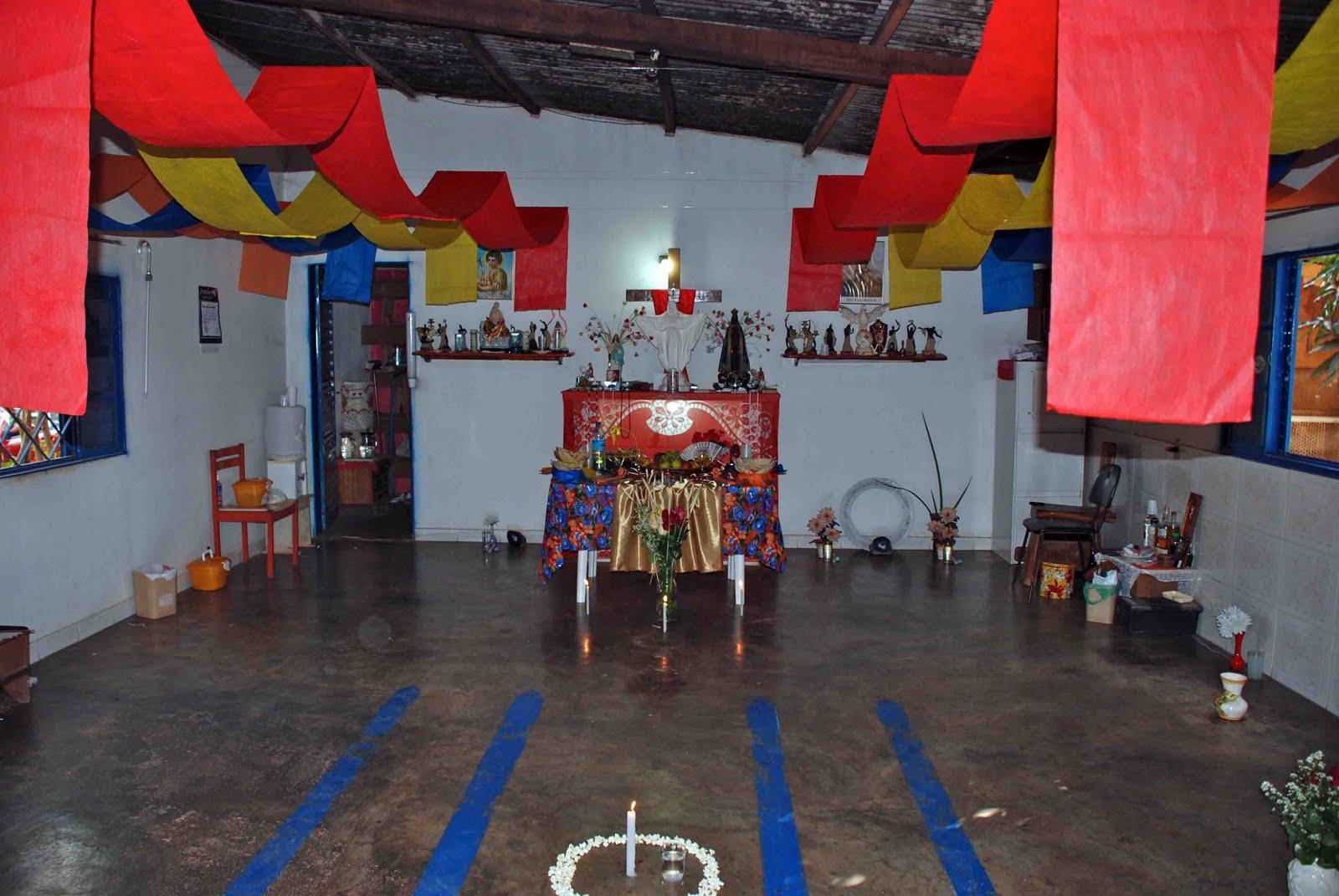 decoracao festa xango:comemoração se deu em homenagem à passagem do dia dedicado a