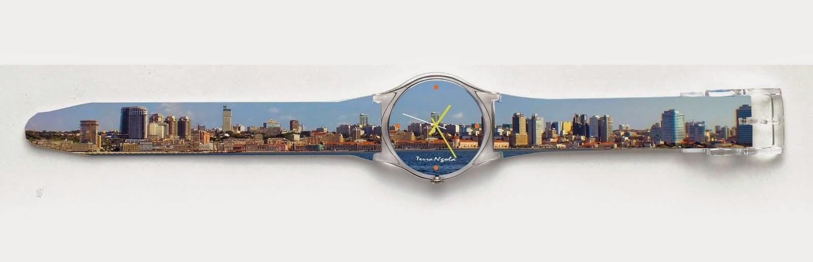 Relógio Baia de Luanda.