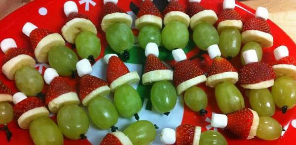 Toda bela Como decorar a mesa de Natal com frutas # Decoração Mesa De Frutas Natal Simples