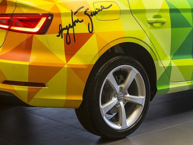 Novo Audi A3 Sedan 2016 Flex - nacional - suspensão elevada