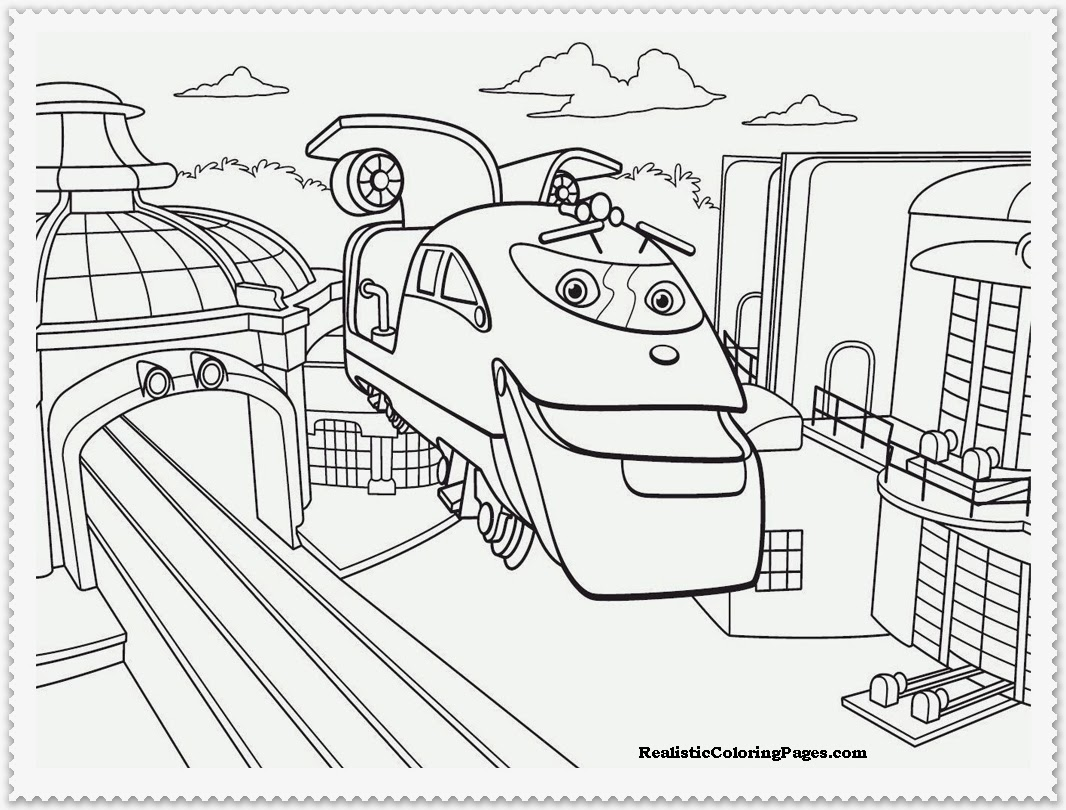 Train Station Coloring Pages Coloring Pages