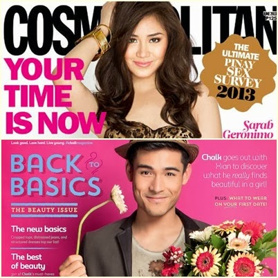 Sarah Geronimo, Xian Lim Named Covergirl and Coverguy of the Year 2013