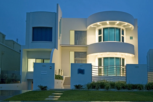 Art Deco Modern House Design