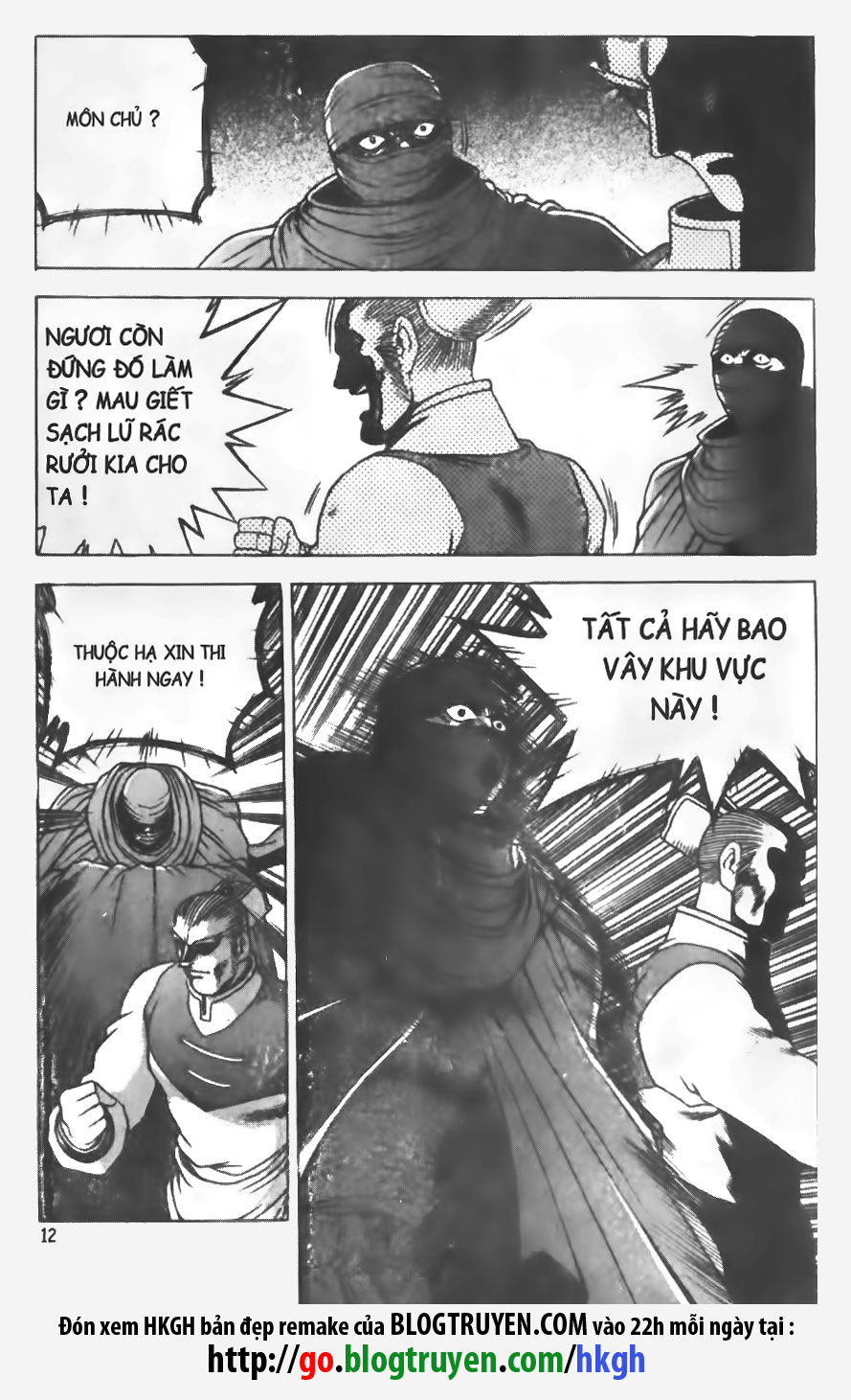 Hiệp Khách Giang Hồ chap 145 page 12 - IZTruyenTranh.com