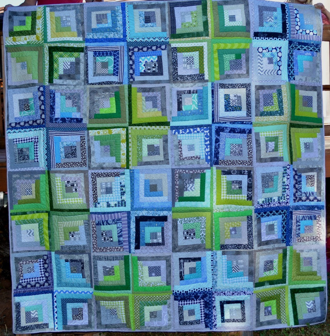 Happy Quilting: Machine Quilting With Style Blog Hop!!! : log cabin style quilts - Adamdwight.com