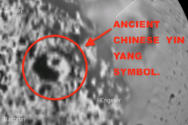 Chinese Yin-Yang Symbol Discovered In NASA photo of Saturn&#39;s Moon Iapetus, UFO Sighting News.