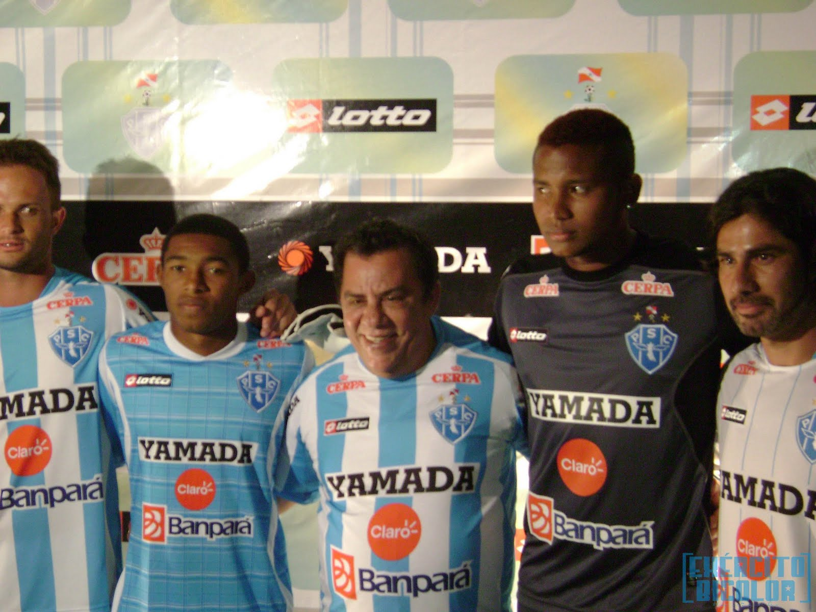 Novo Uniforme Paysandu 2012
