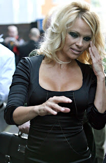 Pamela Anderson without makeup