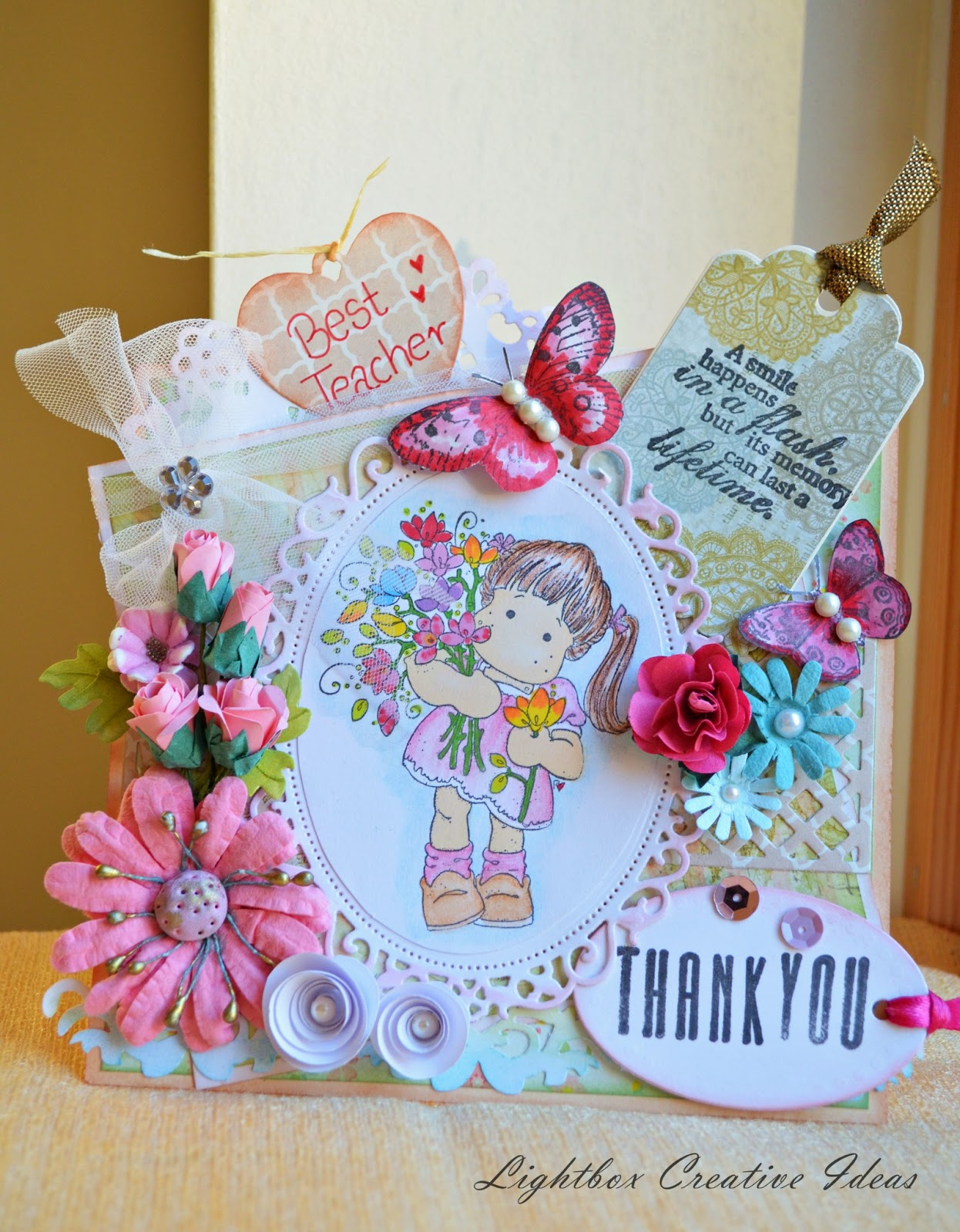 Crafters Corner Thank You Very Much Challenge Winners And Bingo