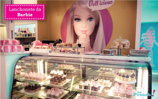Loja da Barbie em Buenos Aires - cupcakes e cookies decorados - lanchonete infantil
