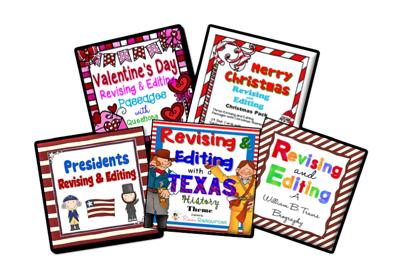 https://www.teacherspayteachers.com/Store/Rosies-Resources/Category/Revising-and-Editing