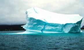 Iceberg B-15, the Antarctic.