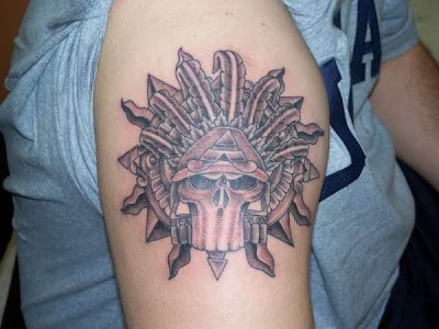aztec tattoo 2011