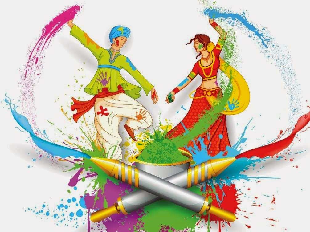 happy holi images for wechat