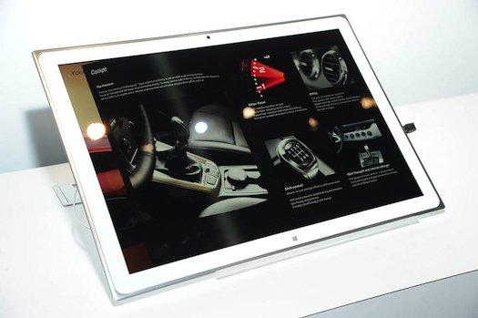 14 Produk Teknologi Terbaik dari CES Tahun 2013: Tablet Panasonic 4K