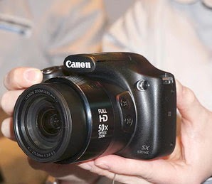 Canon launched 16MP Power and Wi-Fi Professional Camera in India