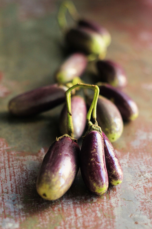 Baby Eggplant with Tamarind & Black Pepper 3 | Indian Recipes