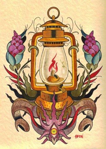 Lantern Tattoos