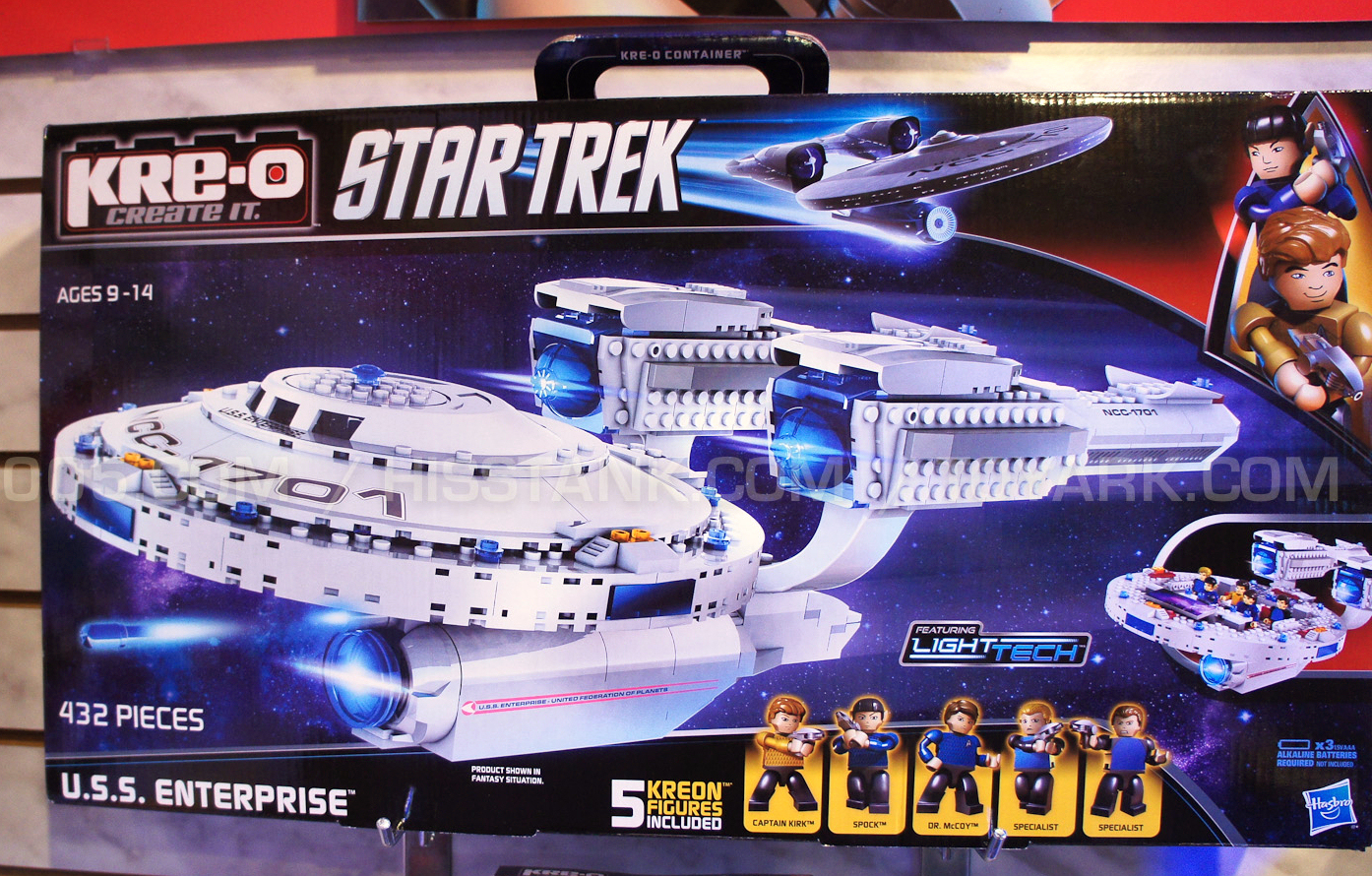 USS Stargazer Model Kit http://www.thetrekcollective.com/2013/02/star-trek-kre-o-at-toy-fair.html