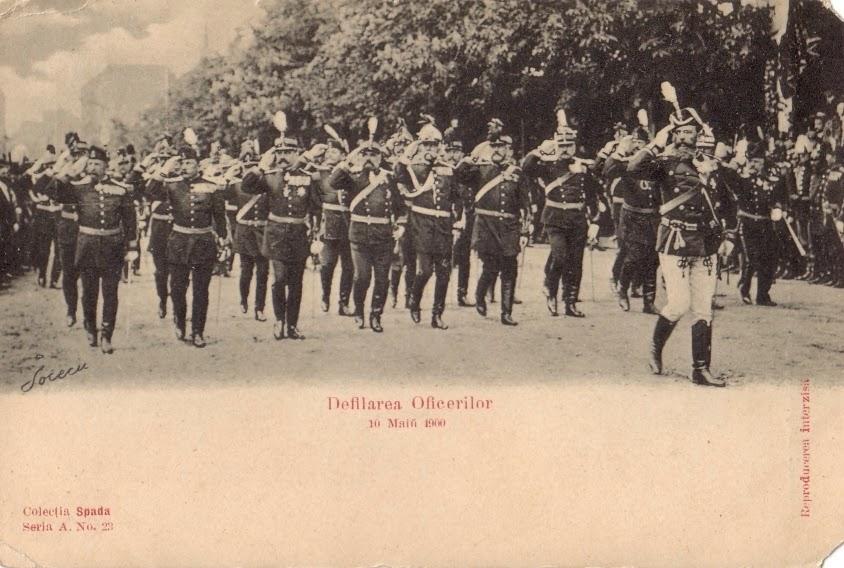 Defilarea Ofiterilor - Parada militara de 10 mai 1900