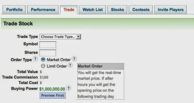 Young Money Stock Market Game - Free Virtual Stock Trading Game