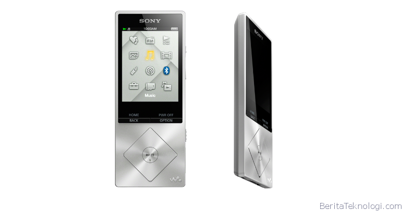 Sony Walkman NWZ-A17 hi-res Digital Audio Music Player for lovers of high-quality Audio