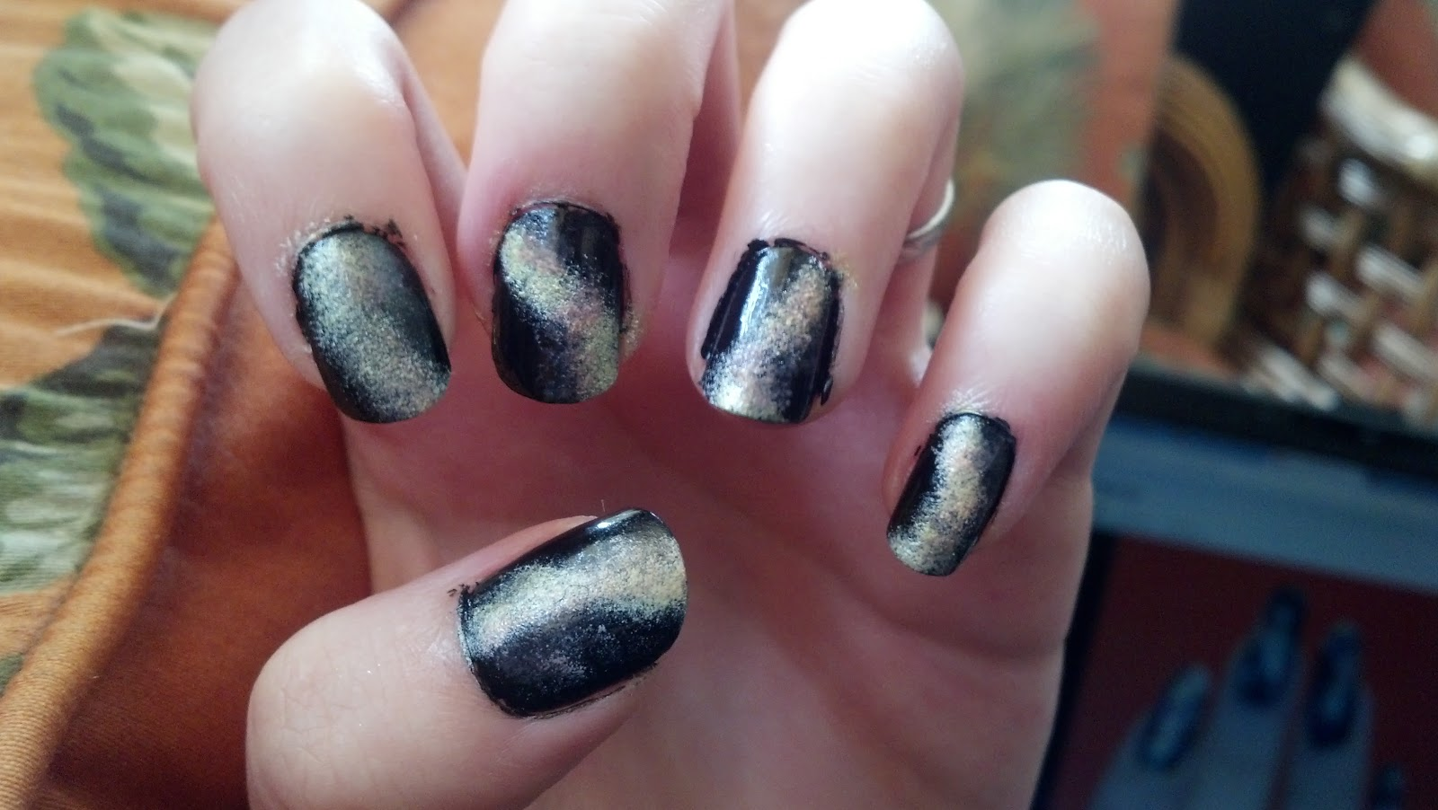 Lily in Lace: Nail Art - Galaxy