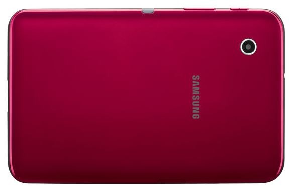 Samsung launches red Galaxy Tab 2 7.0