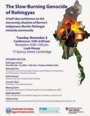 Amartya Sen: Burma's "slow genocide" of Rohingyas