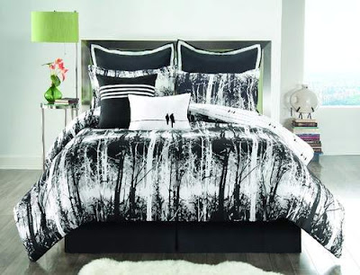 Elegant Black and White Bedrooms Pictures Ideas