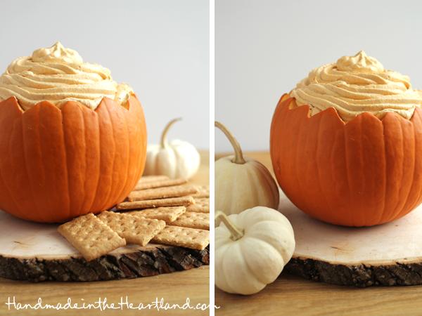 Yummy Pumpkin Pie Dip - Handmade in the Heartland