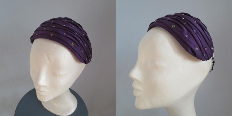 Hat by Stina P Améthyeste Jewels Hiver 1951
