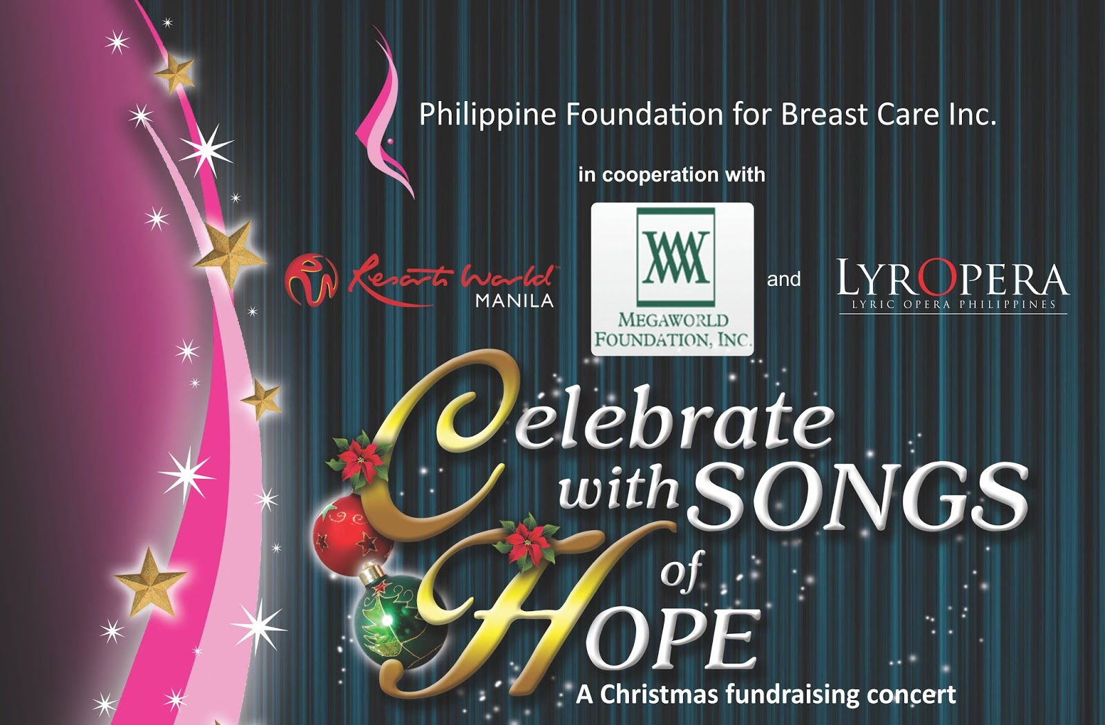 """Info Manila: Jose Mari Chan singing for """"Celebrate with Songs of ..."""