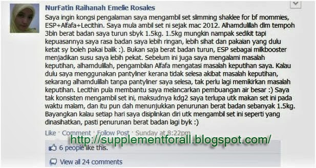 [Testimoni]Set Kurus Untuk Ibu Menyusu.. |Supplement For ...