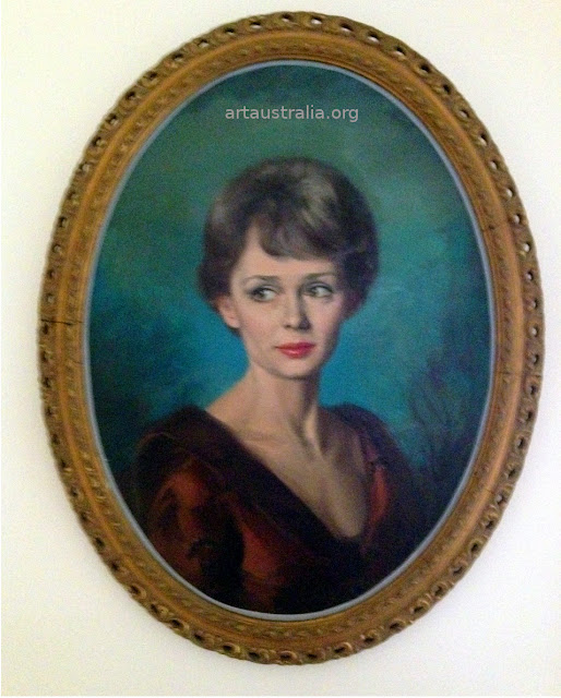 Rare image portrait of Mary Parker. Mary Fitzgerald