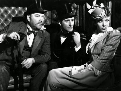 The Adventures of Sherlock Holmes Starring Basil Rathbone, Nigel Bruce, with Ida Lupino