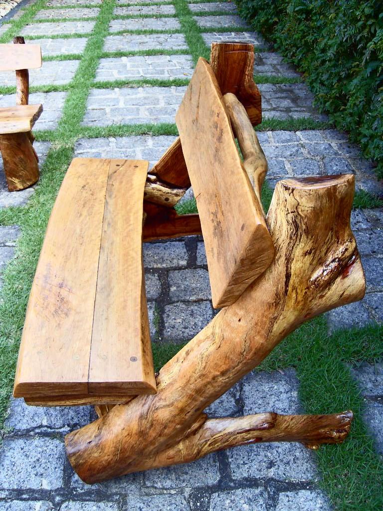 Deixar que a madeira continue a transmitir sua beleza natural.