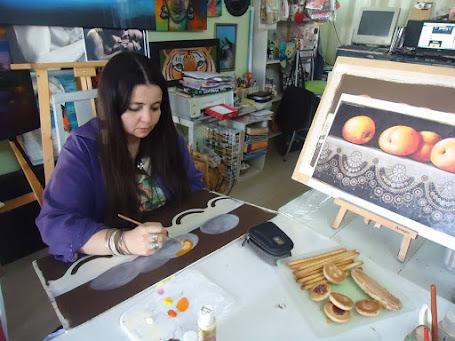 EN SANTA FE, Capital dicto clases del Profesorado de Pintura Decorativa / Porcelana / Tecnicatura
