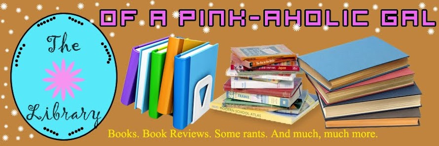The library of a Pink-aholic gal